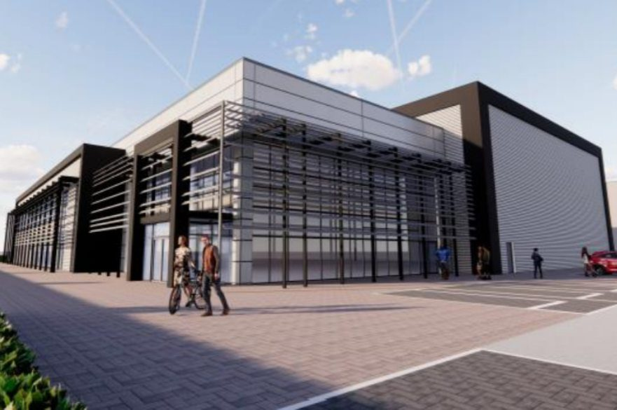 New advanced manufacturing research centre at Infinity park, Derby