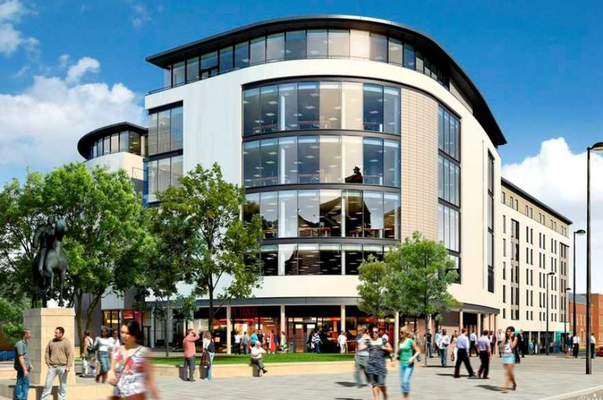 Artist impression of One Cathedral Green office development