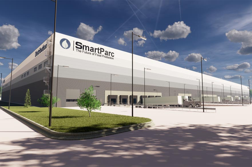Artist impression of SmartParc building