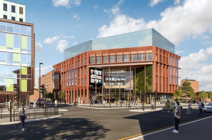 artists impression of Derby Business School