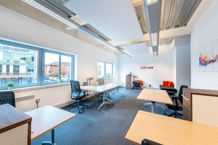 new furnished offices inside Friar Gate Studios