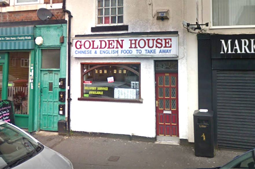Golden House takeaway