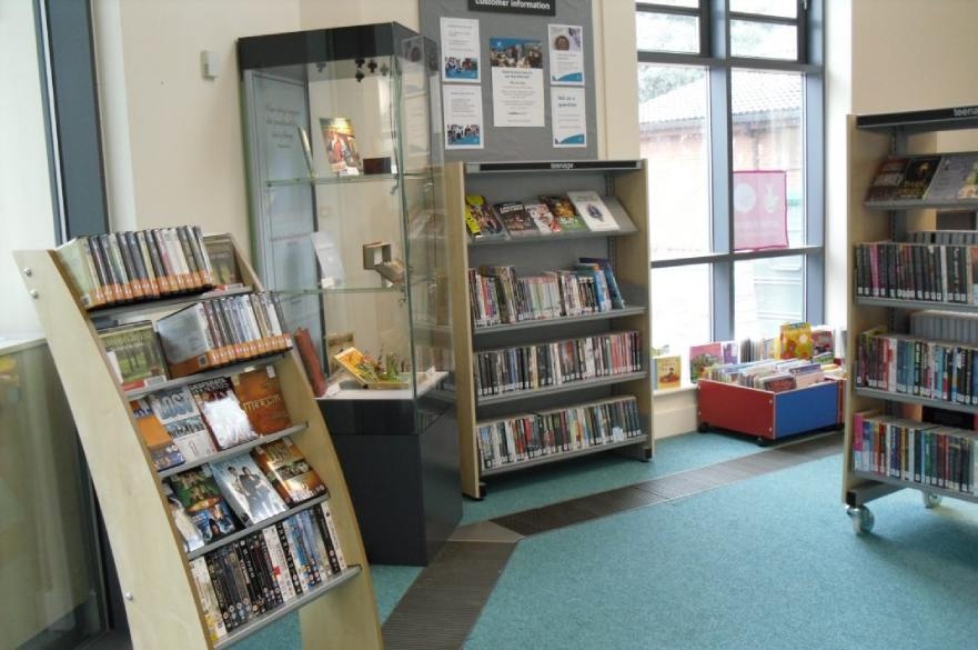 Springwood Library interior