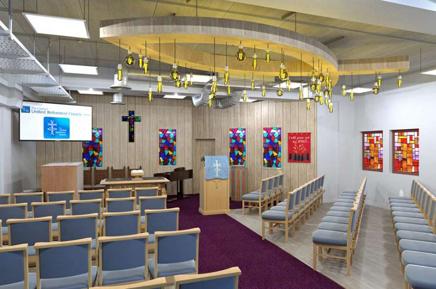United Reformed Church interior
