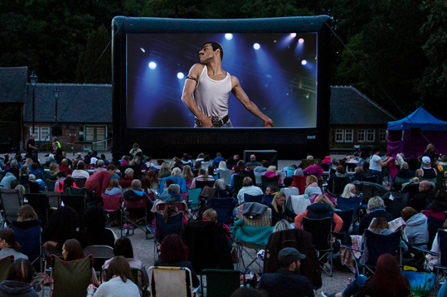 bohemian rhapsody outdoor cinema screen