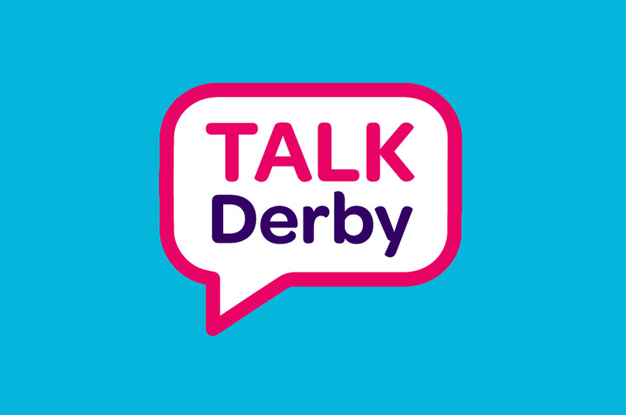 TALK Derby logo