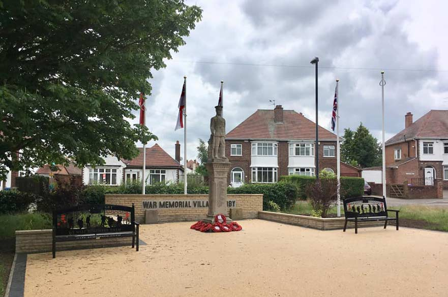 War memorial Village Derby