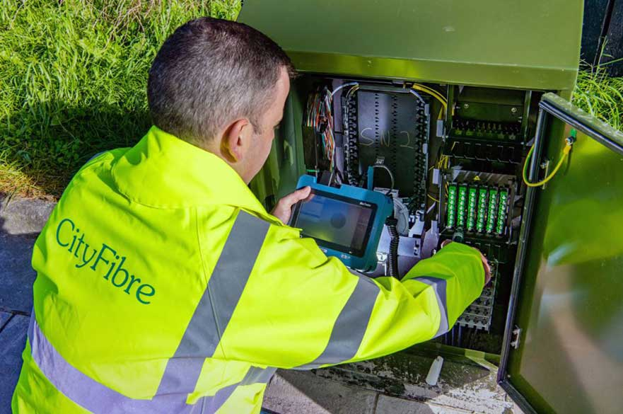 CityFibre engineer