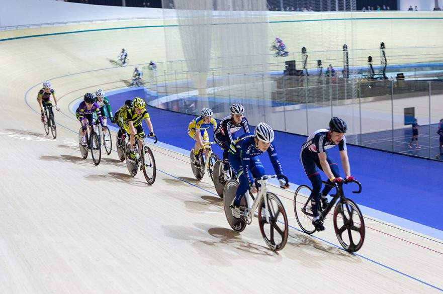 Track cycling Derby Arena