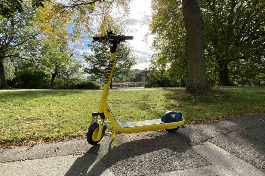 New e-scooters for Derby