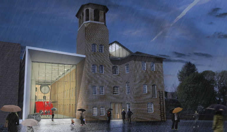 Silk Mill Renovation - architectural drawing